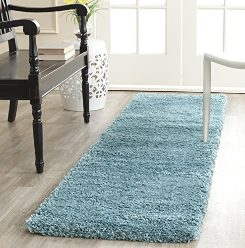 Safavieh Milan Shag Collection SG180-2525 2-inch Thick Area Rug,...