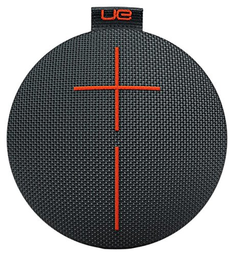 Ultimate EarsROLL2 Enceinte Bluetooth Ultraportable avec Flotteur, Waterproof et Antichoc - Noir/orange