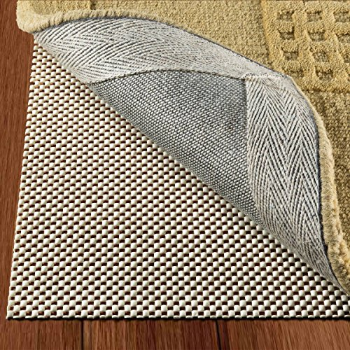 DoubleCheck Products Non Slip Area Rug Pad for Hardwood Floors Size 2 X 8 Extra Strong Grip and Thick Padding