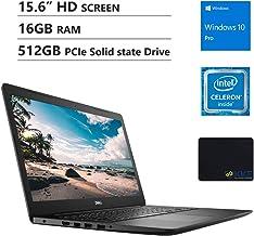 "Dell Inspiron 15.6"" HD Business Laptop, Intel 4205U, 16GB RAM, 512GB PCIe SSD, DVD.."