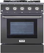 Thor Kitchen Free Standing Freestanding Professional Style Gas Range with Burners,..