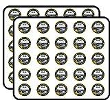 Round City Seal of Chattanooga TN (Tennessee) Sticker for Scrapbooking, Calendars, Arts, Kids DIY Crafts, Album, Bullet Journals