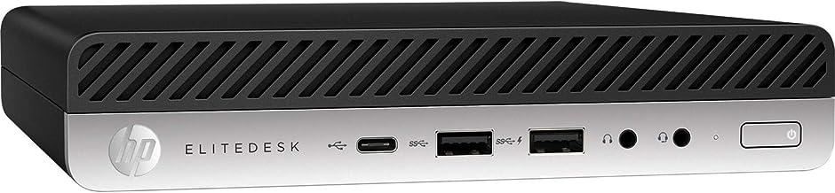 HP EliteDesk 705 G5 Mini PC (último modelo) Ryzen 5 PRO 3400GE 16GB DDR4 RAM 256GB PCIe SSD inalámbrico AC+BT Windows 10 P...