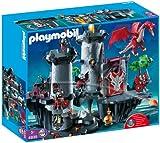 Playmobil - 4835 - Jeu de construction - Citadelle du Dragon Rouge
