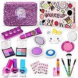 Jojoin Maquillage Enfant Jouet Filles, 19Pcs Prétend Jouer Kit de Maquillage...