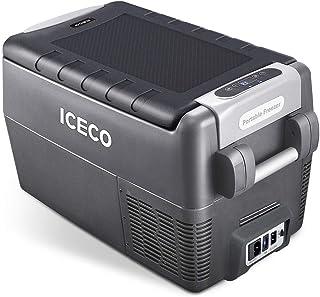 ICECO JP30 Portable Refrigerator, 12V Car Fridge Freezer, 31 Liters Compact Refrigerator..
