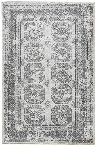 Signature Design by Ashley Jirou Medium Rug-Motif Pattern-Gray/Taupe