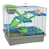 Rosewood Cage pour Hamster Pico Xgrande Argenté