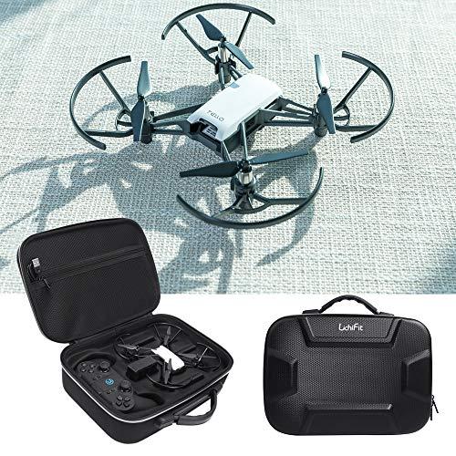 LICHIFIT Borsa da viaggio in poliuretano EVA per trasportare droni DJI RYZE Tello e telecomando...