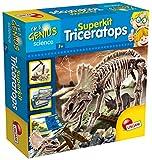 Lisciani Giochi LISCIANI I'm A Genius Super Kit Triceratops Giochi Didattici/Educativi Natura, Multicolore, 56439