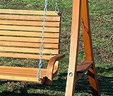 ASS Design Hollywoodschaukel Gartenschaukel Hollywood Schaukel aus Holz - 2