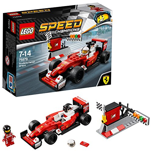 LEGO Speed Champions Scuderia Ferrari SF16-H Set #75879
