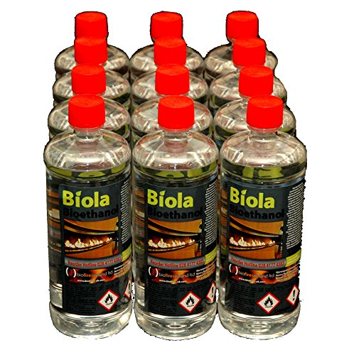 12L PREMIUM BIOETHANOL FUEL UK & IRELAND. For use in fires & stoves.
