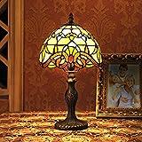 Gweat 8 Pouces Baroque Européenne Tiffany Lampe De Table Chambre Lampe...