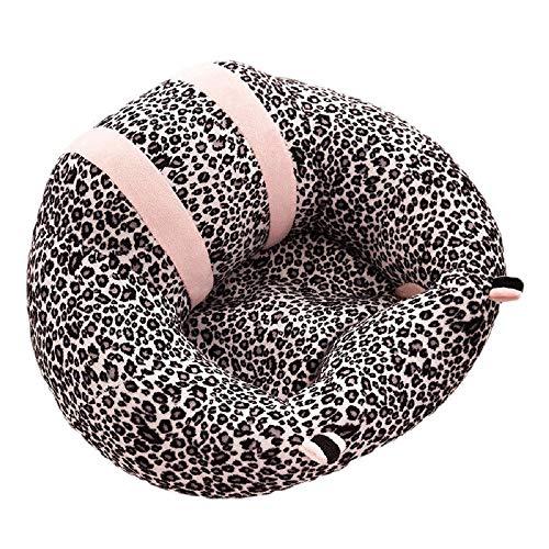 Lilon Seggiolino in peluche per neonati Lattanti che imparano a sedersi Sedia Cuscino per divano Seggiolino Cuscino morbido e confortevole per 4-11 mesi