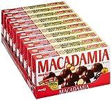 明治 マカダミアチョコ 9粒×10個