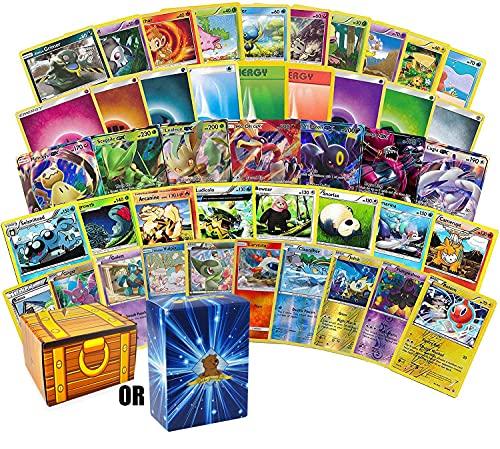 200 Assorted Pokemon Cards - 3 GX Ultra Rares, 4 Rare Cards,...