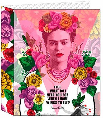 Frida Kahlo- Carpeta Folio 4 Anillas Lomo Ancho (SAFTA 561646657)