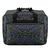 Bolsa de lona impermeable para máquina de coser de gran capacidad, bolsa de almacenamiento para...