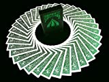 BICYCLE METALLUXE EMERALD Limited Edition Cards By JOKARTE COLLECTORS Cartes à...