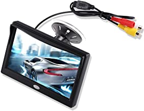 5'' Inch TFT LCD Car Color Rear View Monitor Screen for Parking Rear View Backup..