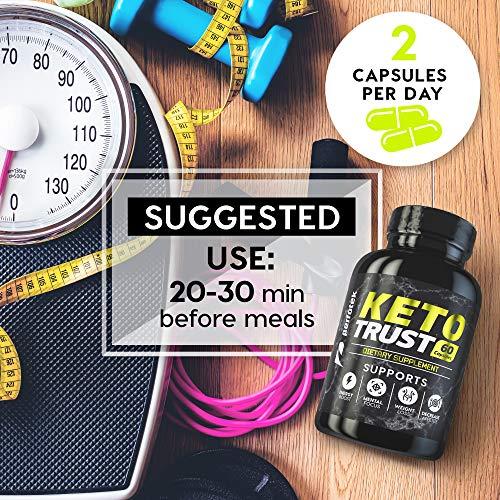 4 Pack Keto Diet Pills Weight Loss Supplement Fat Burner Advanced Extract Formula - Garcinia Cambogia - Raspberry Ketones, Green Coffee Bean, Green Tea All Natural, Ketogenic Diet for Women and Men 8