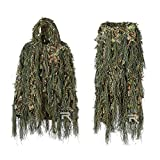 YITAOTTG Hybride Woodland Camouflage Ghillie Costume de Chasse Poids Léger...