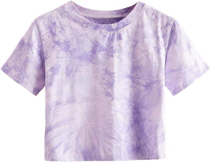 purple dip dye t-shirt
