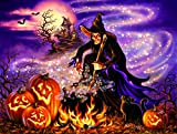 All Hallows Eve 500 pc Halloween Jigsaw Puzzle by SunsOut