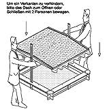 Habau 3024 – Sandkasten Tino mit senkbarem Dach - 5