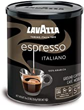 Lavazza Espresso Italiano Ground Coffee Blend, Medium Roast, 8-Ounce Cans,Pack of 4..