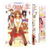 Coleção love hina - caixa com volumes 1 a 14
