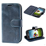Mulbess Coque pour Samsung Galaxy S4 Mini, Etui Samsung Galaxy S4 Mini Cuir...