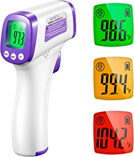 Infrared Thermometer for Adults, Non Contact Forehead Thermometer with Fever Alarm,..