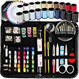 ARTIKA Sewing KIT, Over 130 DIY Premium Sewing Supplies, Mini Sewing kit, 38 Spools of Thread - 20 Most Useful Colors & 18 Multi Colors, Extra 40 Quality Sewing pins, Travel, Kids, Beginners