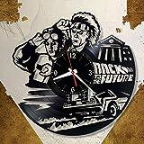 wtnhz Reloj de Pared con Disco de Vinilo LED Reloj de Vinilo de 12' Movimiento de Cuarzo decoración del hogar, Regalos para fanáticos