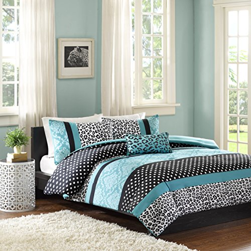 MI ZONE MZ10-225 Comforter Set, Twin/Twin XL, Teal