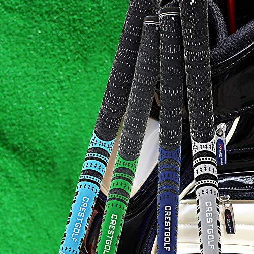 Product Image 5: Multi -Compound Golf Grips,Mid Size All-Weather Control Thread Technology Rubber Combine with Carbon Yard, Anti-Slip-Set of 13(Blue,midsize)