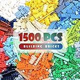 Lekebaby 1500 Pieces Classic Building Bricks Set Basic Building Blocks Compatible with All Major...