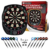 WIN.MAX Electronic Dart Board,Soft Tip Dartboard Set LCD Display with...