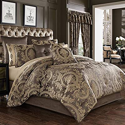 Made with Design House Quality Fabric This Updated Take on Tradtional Luxe will add elegance to your bedroom decor Pairs well with Classic Luxury or Traditional decor Color: MINK 96 in. x 110 in. 100% Polyester Dry Clean Only