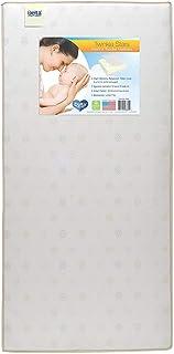Delta Children Twinkle Stars Fiber Core Crib and Toddler Mattress | Waterproof |..
