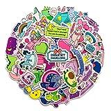 TTBH Pegatinas para álbum de Recortes Pegatina Decorativa DIY Diario álbum Etiqueta Adhesiva Kawaii papelería calcomanías 60 unids/Set