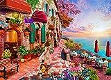 HUADADA Puzzle 1000 Pièces Adultes, Puzzle Adulte Morning Blossom Puzzle Paysage Puzzle Enfant (70x50cm)