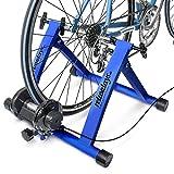 Relaxdays Simulateur de vélo pliable avec 7 niveaux de résistance Rouleau...