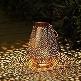 Lanterne Solaire Exterieur, Othran Marocaine LED Lampe Lanterne Exterieur, IP44...