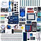 ELEGOO UNO R3 Project Kit de démarrage le plus complet avec tutoriel compatible avec Arduino IDE (63 articles)
