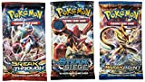 Pokemon TCG: 3 Booster Packs – 30 Cards Total  Value Pack Includes 3 Blister Packs of Random Cards   100% Authentic Branded Pokemon Expansion Packs   Random Chance at Rares & Holofoils