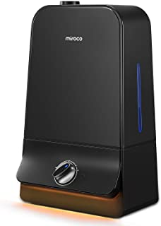 Miroco Cool Mist Humidifier, 26dB Ultra Quiet, 6L Ultrasonic Humidifiers for Large..