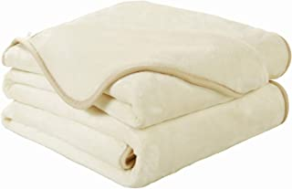 EASELAND Soft Queen Size Blanket Winter Warm Fuzzy Microplush Lightweight Thermal Fleece..